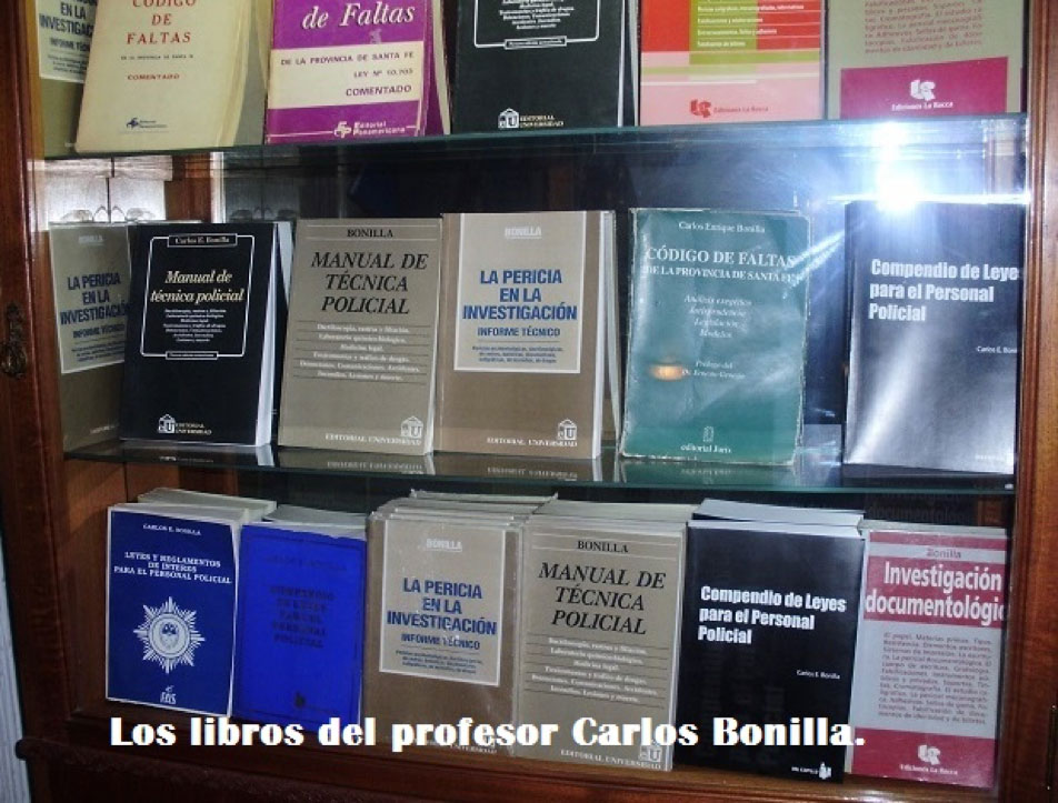 Libros Carlos Bonilla
